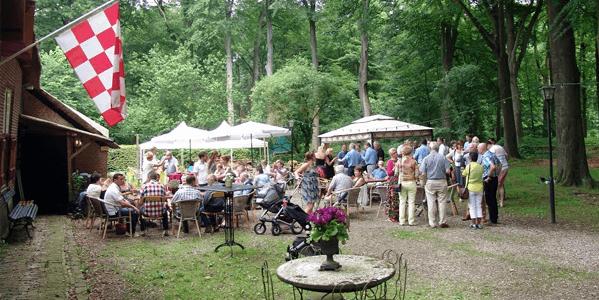 Buiten feest organiseren Hilvarenbeek